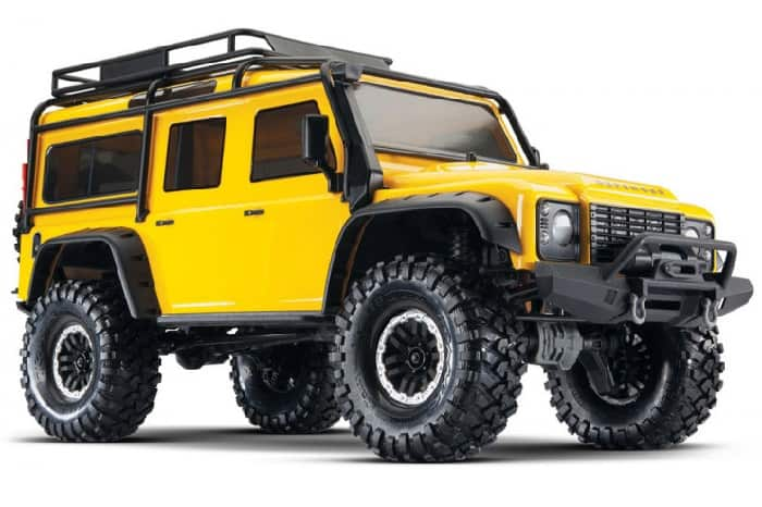 Traxxas TRX-4 Land Rover Defender 110 - Yellow Limited Edition